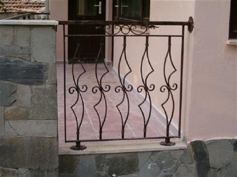 Ferforje ve çelik balkon korkuluğu ferforje ve çelik balkon